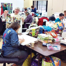 PebbleCreek Quilters Sew up 2014 with Outstanding Donations