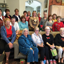 Holiday gathering of the Hookers of PebbleCreek
