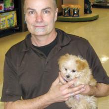 Jeff Luker and friend.