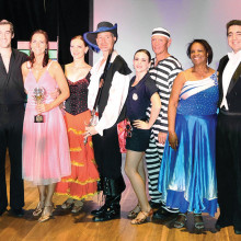 Competitors for the 2015 Mirror Ball Trophy