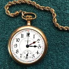 1911 Illinois Watch Company railroad pocket watch