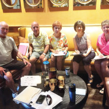Members of the committee, left to right: Ken Minichiello, president, Everett Saverino, treasurer, Rosemary Holmes, chairperson, JoAnn Fioretti and Jackie Voccola