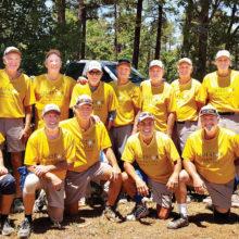 PebbleCreek's C Division Softball Team - Repeat Champions - Pinetop, Arizona June 19, 2016