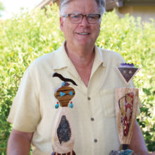 Tom Buck takes inspiration from petroglyphs to create his Petro People.