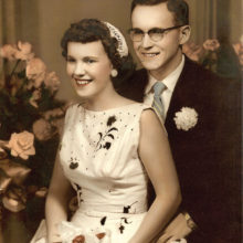 Beverly and Charles Coe 60 years ago.