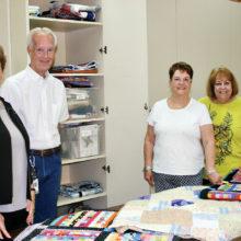 Left to right: Linda Labenz, Chuck Patton, Pam Branfuhr, Jackie Dronchef
