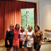 Some of Flight 1, First Place winners: Kathy Hubert-Wyss, Barbara McKinney, Vicki Ray, Kittie Day, Carolyn Apodaca
