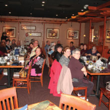 Lunch at Carrabba's Italian Grill was a great success.