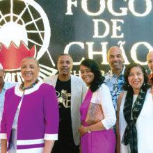 Left to right: Robert and Jean Gwyn, Garnett and Judy Hampton, Rodney and Pamela Jackson, Steve and Patricia Baker