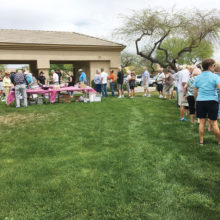 Food and friendship were the order of the day as participants in Fall 2016 and Winter and Spring 2017 Bocce Seasons gather for their annual picnic at Sunset Park in Eagle's Nest.