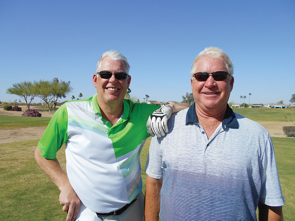 Overall Match Play Winners: Larry Mickelson and Cort Wyss
