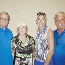 Par Tee First Place Falls Course — Jack and Kathy Doerwald, Bonnie and Rich Elliott