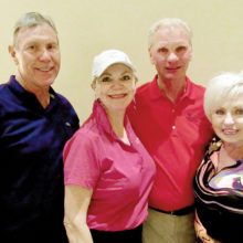 Par Tee Second Place Falls Course - Jim and Kay Daugherty, Dave and Janis Korba