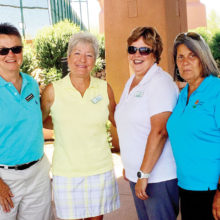 Sun City Grand First Place Back Nine - Diana Bedwell, Shellie Carbonne, Lorri Eggen, Phyllis Lefebvre