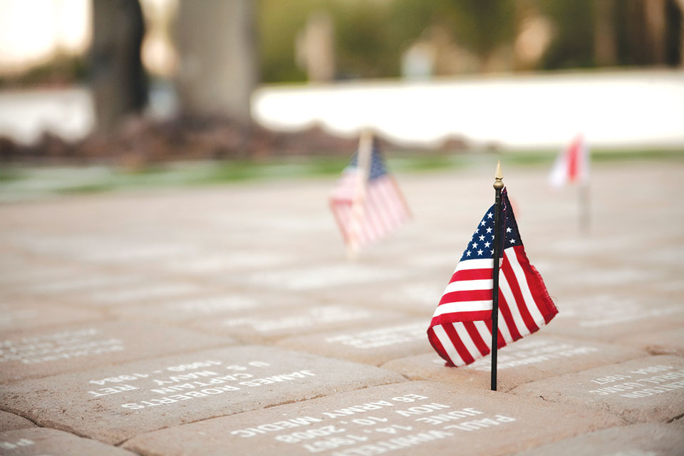 Armed Forces Plaza Flag Pavers