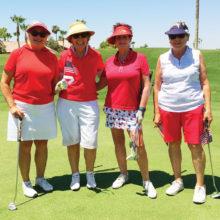 Left to right: Carol Sanders, Sue White, Tricia Self, Ruth Shaffer