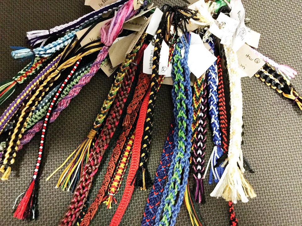 Kumihimo braids