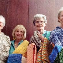 Barbara Grimm, Barbara Klaessy, Caroline Ryker, Lyda Evers, Liz Arnold and Jeanne Schimmelpfennig.