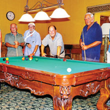 Left to right: George Polk, Rene Lefebvre, Bob Macy, Jim Sykes, Brian Balliet and Lynn Warren