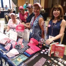 Left to right: Sue Harrison, Nancy Phipps, Judy Gallob, Arlene Engelbert, and Indy Rebhun.
