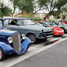 Cars and Coffee, Queen Creek, September 2019.