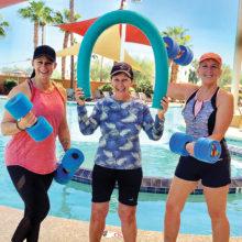 Liz Wheelington, Sue White, and Kim Corbel