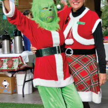 The Grinch and Kathy Aalto