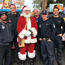Goodyear Fire Department and Santa Claus