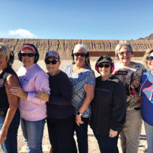 Left to right: Tess Braden, Sue Harrison, Judy Gallob, Linda Modahl, Mary Martony, Cindy Linthicum, and Lisa Cooper