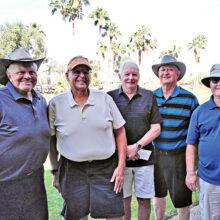 Winners on Nov. 14 (left to right): Chris Mucha, Joe Duch, Lou Ceri, Bill O'Riley, and Jim Martin