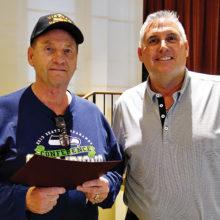 PC Patrol Dave Thompson and GM Bill Barnard
