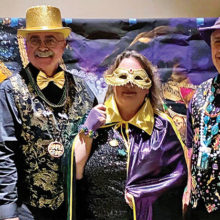 PebbleCreek Democratic Club partied the night away at the inaugural Mardi Gras dinner and dancing event.