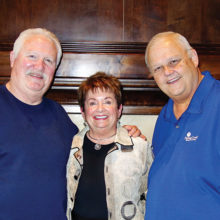 PebbleCreek HOA board members past and present (left to right): Bob Parks, Nancy Wilson Smith, and Steve Harper