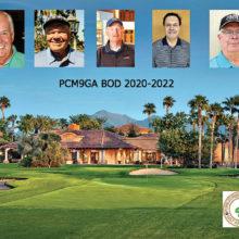 Newly elected PCM9GA BOD (left to right): Trevor Ballinger, president; Chris Mucha, vice president; Bruce Hulbert, treasurer; Louis Beaulieu, secretary; and Bill Lansing, pairing director
