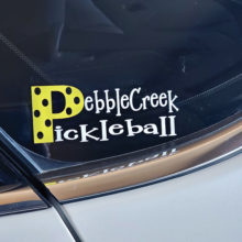 Jo Comstock's window decal