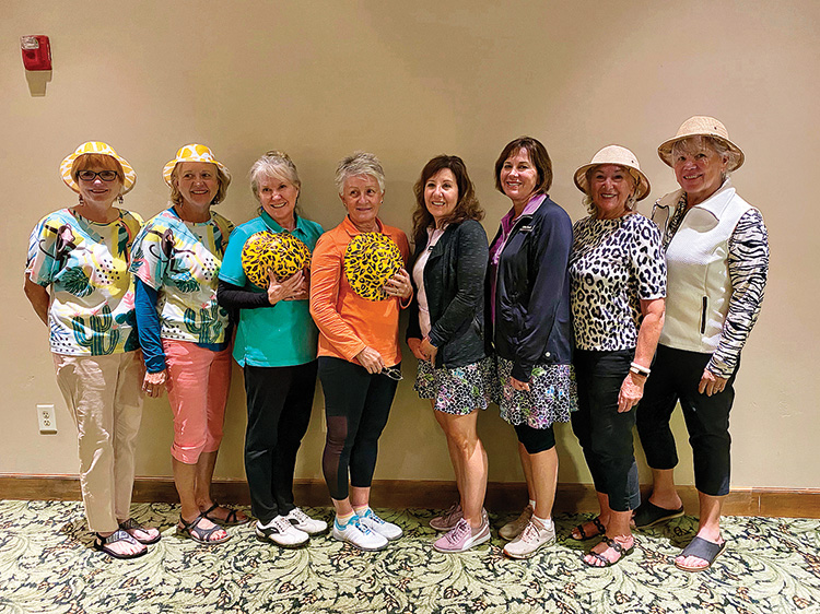 First place winners KayCee Christensen, Bobbi Wagner, Karen Brown, Joan Smith, Patti Hedgepeth, Cathy Dosch, Clair Tupper, and Kerry Williams