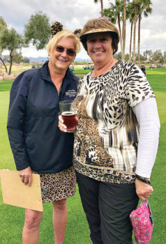 Co-chairs Marcy Arbelbide and Patti Engelhardt