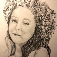 """Study of Cora"" 1st prize winner by Susan Gleason"