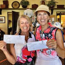 Kathy Enegren and Teresa Christensen win third in 1st Flight!