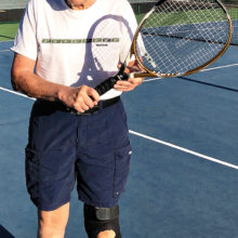 Gary Ludwig is the Tennis Player of the Month.