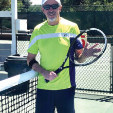 Dennis Whitley, PC Tennis Club president