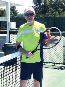 Dennis Whitley, PC Tennis Club president