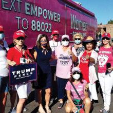 PC Republican Club women with Senator McSally