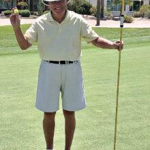 Arnie Lawrence scores prophetic ace.