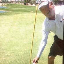 Ron Hansen got his first hole-in-one.