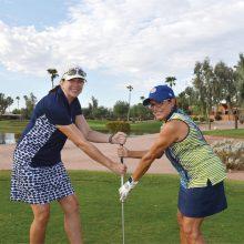 Laura Fischer (left) and Sandra Rivera