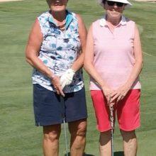Jenna Ridgeway (left) and Ruth Shaffer