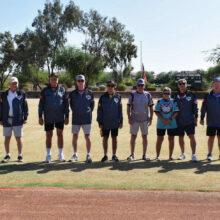 Fifteen-year recipients (left to right): Larry Karr, Ron Johnson, Randy Prinz, Hugh Ferretti, Paul Zuckerbrow, Mark Roberts, Dan Becker, Jay Aybar, and Dave Gasch (not pictured)
