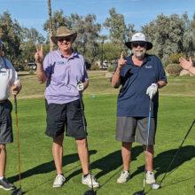 PCM9GA 3-2-1 Tournament (left to right): Gary Lord (3); Tom LeChaix (2); Tom Johnson (1); Roger LeBlanc (? I just don't know)