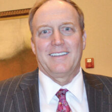 Attorney Robert McWhirter spoke with the PC Democratic Club in January.